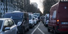 Embouteillage, Paris, trafic