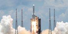 La chine reussit a faire atterrir un robot sur mars