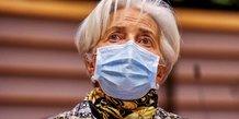 Lagarde (bce): il est premature de discuter de la fin du pepp