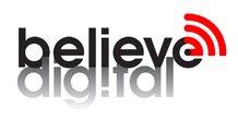 Believe, logo, Digital, Music
