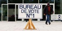 Ouverture des bureaux de vote pour le premier tour des regionales