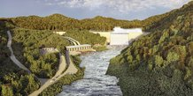 barrage Kinguele gabon