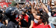 Tunisie: des manifestations ciblent le parti ennahda