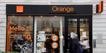 File photo: french telecoms operator orange store in paris