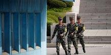 La coree du nord prete a envisager un sommet inter-coreen