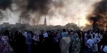 soudan khartoum manifestations