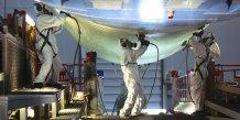 La société STTS, sous-traitant d'Airbus, est spécialiste de la peinture aéronautique