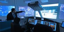 Jean-Charles Marin, responsable politique produit, présente le Silab, laboratoire d'innovation au sein de Thalès Avionics