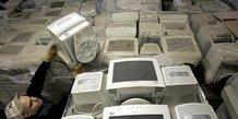 L'ue loin de ses objectifs en matiere de recyclage d'e-dechets