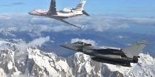 Falcon 7X Rafale Dassault Aviation