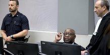 L'ex-president ivoirien laurent gbagbo devant la cpi