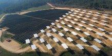 La Compagnie du Vent, centrale solaire de Mouruen dans le Var
