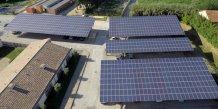 Urbasolar, installations photovoltaïques sur les toits des hôpitaux de Tarascon