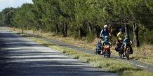 vélotourisme, Pays de la Loire, cyclotourisme, famille,
