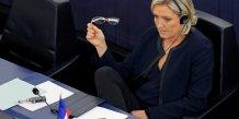 339.000 euros reclames par le parlement europeen a marine le pen