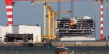 Une seule offre en coree du sud pour le rachat des chantiers stx de saint-nazaire