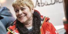 Linda Jackson après le rallye Monte Carlo