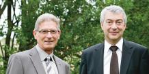 André Samier, Président et Alain Condaminas, Directeur Général de la BPOC.