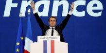 Macron donne large vainqueur du second tour