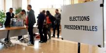 Les electeurs aux urnes pour un premier tour a suspense