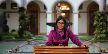 Delcy Rodriguez ministre Venezuela