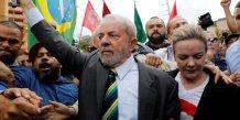 L'ex-president lula comparait devant la justice bresilienne