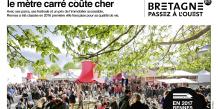 Rennes, LGV, 1h 25 min de Paris, transports, SNCF, métropole, campagne de publicité, attractivité, territoire, développement économique,