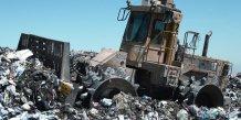 Unité traitement recyclage déchets