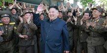 Nouveau tir de missile en Corée du Nord, Kim Jung Un