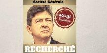 Mélenchon diffamation Soc Gen Kerviel
