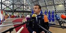 Macron veut une politique commerciale ouverte mais qui protege