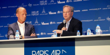 PAF, Paris Air Forum, Google, Airbus, Eric Schmidt, Tom Enders