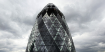 La tour du 30 Saint Mary Axe à la city de Londres