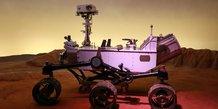 Le rover Curiosity partiellement construit à Toulouse foule le sol martien depuis août 2012