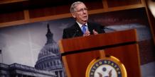 Mitch Mc Connell, le leader de la majorité républicaine au Sénat