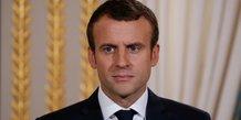 Macron reaffirme son ambition budgetaire pour la defense