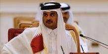 L'émir du Qatar Tamim ben Hamad Al-Thani