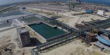 OCP station traitement phosphates Maroc