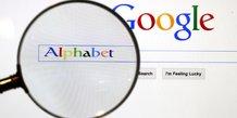 Le chiffre d'affaires d'alphabet en forte hausse