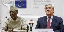 Idriss Déby UE Tchad Tajani