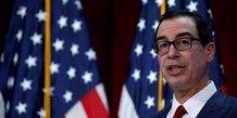 Steve Mnuchen, le secrétaire américain au Trésor a annoncé de nouvelles sanctions visant des individus en lien avec Maduro