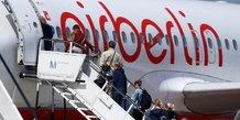 Air berlin pense repartir ses actifs entre 2-3 acheteurs