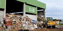 Delta Recyclage traite 160 000 t de déchets par an, dont des déchets industriels banaux (DIB)