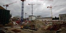 Signes de ralentissement dans la construction en france