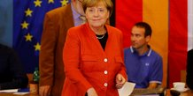 Merkel en passe d'obtenir un quatrieme mandat