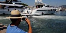France: le rapporteur du budget pour une taxation des yachts