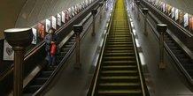 Greve des conducteurs de metro a londres