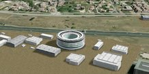 Projet de centre international sur un futur pôle européen dédié à la sécurité civile, à Nîmes-Garons