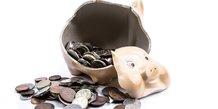 tirelire, économies, argent, monnaie, pièces, espèces, cassée, caisse d'épargne,