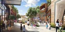 Lancement commercial de l'opération de requalification urbaine et commerciale Shopping Promenade Ode à la Mer